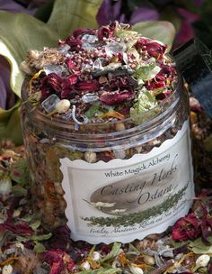 Ostara Spring Casting Herbs 6oz . Spring Equinox . Flowers, Herbs, Gemstones . Fertility, Abundance, Rebirth and New Beginnings on Etsy, £6.13