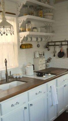 shabby chic kitchen (20)