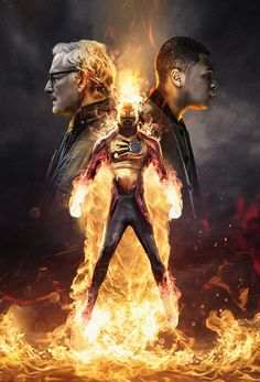 Styled Legends Of Tomorrow Poster for season 2