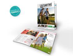 Maquette magazine La Sarthe #magazine