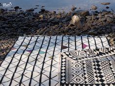 MUMs VERKKO rug and MUMs loves Africa rug