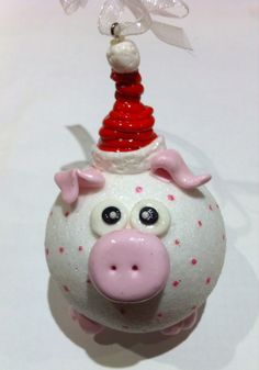 Pig Balls polymer clay