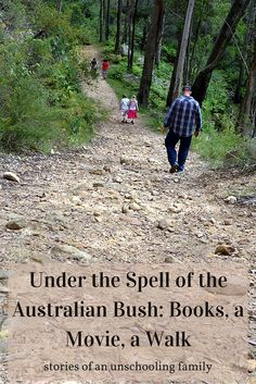 "Stories of an Unschooling Family: Under the Spell of the Australian Bush: Books, a Movie, a Walk ...""My daughter Sophie gave me a beautiful pair of silver and pearl dangly earrings. I've worn them every day since Christmas. I was wearing them, together with a long skirt, (and a spray of perfume), when we headed off into the bush, a few days ago, for a walk..."""