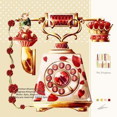 Cute Illustration, Digital Illustration, Alice In Wonderland Diy, Aesthetic Objects, Food Wallpaper, Cute Kawaii Drawings, Prop Design, Japan Art, Illustrations And Posters