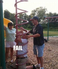 Funny Fail Pictures: you got stuck