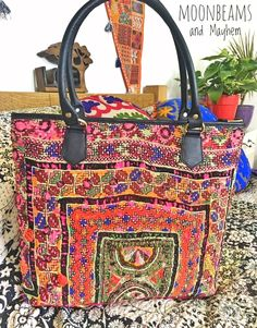 Wild yet Dreamy Banjara Textile bag now in Store : http://www. http://www.ebay.co.uk/itm/EXQUISITE-NEW-INDIAN-BOHEMIAN-BANJARA-LEATHER-SHOULDER-BAG-TOTE-PURSE-VINTAGE-/112150735170?