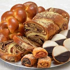 Kosher Bakery Classics Care Package Classics baked goods from the Kosher Bakery. Moist and flavorful challah, babka, rugelach and the best black in white cookies.
