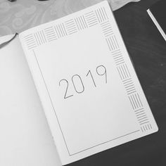 journal ideas for beginners Starting on my 2019 setup. Starting on my 2019 setup. Bullet Journal Yearly, Bullet Journal For Beginners, Bullet Journal Cover Ideas, Bullet Journal Quotes, Bullet Journal Banner, Bullet Journal Lettering Ideas, Bullet Journal Junkies, Bullet Journal Notebook, Bullet Journal Aesthetic