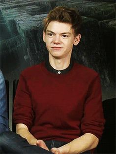"""Family don't end with blood, boy!"""" - ♔ THOMAS BRODIE-SANGSTER GIF ..."""