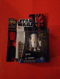 STAR WARS G8-R3™ Action Figure UNOPENED NEW IN BOX 3D Glasses Still Attached!!!!