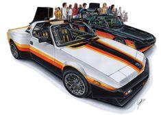 Fiat Street by on DeviantArt Fiat X19, Car Prints, Fiat Panda, Car Drawings, Automotive Art, Kit Cars, Custom Cars, Motor Car, Cars Motorcycles