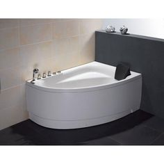 We are very excited to offer you this breath-taking EAGO whirlpool bath tub. This tub features a beautiful design which will add the finishing touches to any bathroom. We are confident that you will indulge
