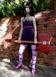 marceline the vampire queen adventure time cosplay costume Marceline Cosplay, Dress Up Costumes, Anime Costumes, Cosplay Costumes, Last Halloween, Halloween Cosplay, Halloween Costumes, Cosplay Outfits, Cosplay Ideas