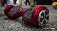 If the skateboard and Segway had a strange, high-tech love child, it would be the IO Hawk. It's as weird and wonderful as it sounds.