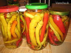 Absolútne najlepšie zavárané baranie rohy na svete :-) Canning Pickles, Yams, Empanadas, Food Dishes, Preserves, Cucumber, Food To Make, Spices, Frozen
