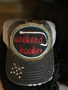 Weekend Hooker Hat by HaydensHaven on Etsy