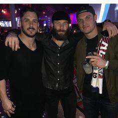 Danny, Jules, Hogan