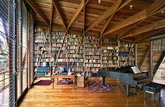 Görünce Hemen Evinizin Bir Odasına Kütüphane Kurmak İsteyeceğiniz 19 Efsane Ev Kütüphanesi