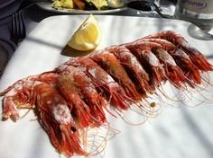 La Última Ola Restaurant - Gambas rojas