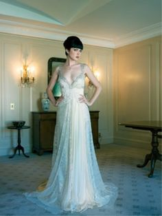 c94003ea0e5 From Pallas in Sydney - beautiful and unique wedding dress. Photo Peter  Collie for Sydney Bride Magazine