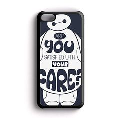 Baymax BIg hero 6 Are you satisfied with your care AM iPhone 5c Case Fit For iPhone 5c Rubber Case Black Framed FRZ http://www.amazon.com/dp/B016NNQBAA/ref=cm_sw_r_pi_dp_j3hmwb11RX4FW