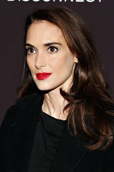 Look at This Picture of Winona Ryder and Tell Me You Believe She's 41! It's Insane! (And Can We Talk About Her Gorgeous Lipstick?)