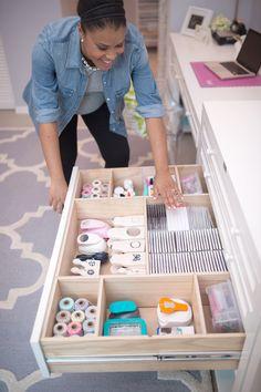 Crib Meets Craft: Nursery & Craft Room Reveal   Damask Love