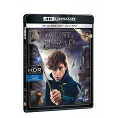 Blu-ray Fantastická zvířata a kde je najít, UHD + BD, CZ dabing Blues, Fantasy, Baseball Cards, Fantasia