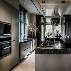 50 modern kitchen ideas decor and decorating ideas for kitchen design 3 Home Decor Kitchen, Interior Design Kitchen, Modern Interior Design, Interior Decorating, Kitchen Ideas, Rustic Kitchen, Decorating Ideas, Cuisines Design, Luxury Kitchens