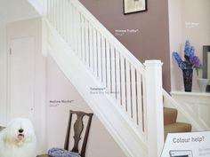 Interior Home Design Trends For 2020 - New ideas Hallway Paint Colors, Paint Colours, Home Design, Hallway Designs, Hallway Ideas, Laura Ashley Living Room, Hall Colour, Dark Hallway, Decoration
