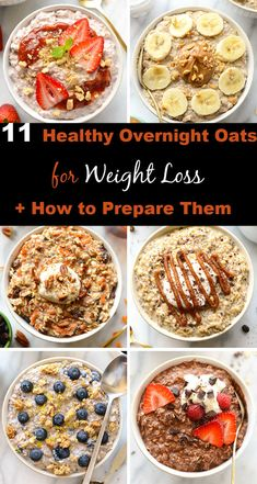 Good Healthy Recipes, Healthy Meal Prep, Healthy Foods To Eat, Healthy Snacks, Healthy Weight, Healthy Food For Dinner, Healthy Breakfast Recipes For Weight Loss, Healthy Oatmeal Recipes, Breakfast Healthy