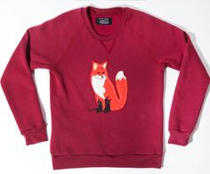 bc who doesn't want a woodland creature on a sweatshirt
