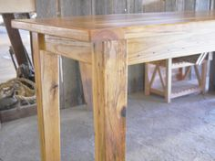 A Custom Reclaimed Hickory Table
