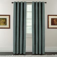 The simple style of this Arlee Window Accents Eagan Jacquard Blackout Curtain seamlessly matches any decor. French Curtains, Elegant Curtains, Shabby Chic Curtains, Yellow Curtains, Floral Curtains, Rustic Curtains, Velvet Curtains, Colorful Curtains, Curtains With Blinds