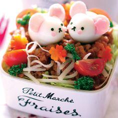 Asian salad. Cute!