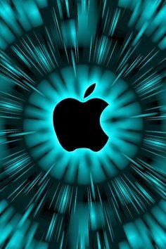 Cyan Apple Wallpaper - Bing images