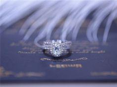 Orden del custome para nicole kuester / 3PCS anillo con 5x7mm