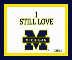 Always and forever Go Blue. U Of M Football, Michigan Wolverines Football, College Football Teams, Ohio State Buckeyes, Michigan Go Blue, Detroit Sports, Go Big Blue, University Of Michigan, Face Book