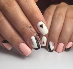 """Determine more info on """"nail paint ideas"""". Browse through our site. Manicure, Shellac Nails, Matte Nails, French Nails, Nailart, Gel Nagel Design, Nagellack Trends, Cute Nail Art, Super Nails"""