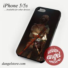 Ciri the wild witcher Phone case for iPhone 4/4s/5/5c/5s/6/6 plus