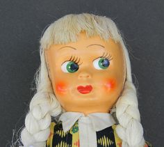 "Have one to sell? Sell it yourself  Antique Sawdust Filled Jointed Cloth body plastic face 16"" 1930's Polish Doll"