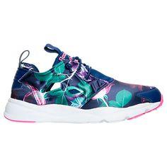 d1811dc25ae Women s Reebok Furylite Floral Print Casual Shoes - AQ9837 AQ9837-BLU