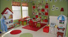 original diseño decoración rojo verde