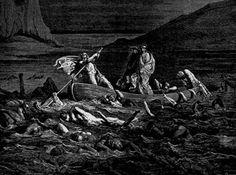 Cap 20: En el río de memoria el grupo necesitaron pagar Caronte continuar en su viaje.