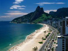 Ipenema Beach, Rio - been there.