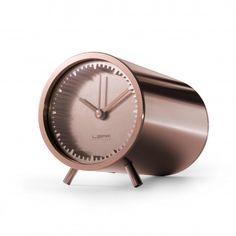 Horloge Tube Clock Copper - Piet Hein Eek
