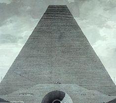etienne louis boullée, pyramid