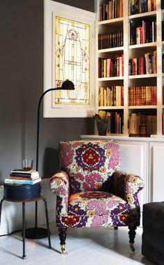 a corner to read in