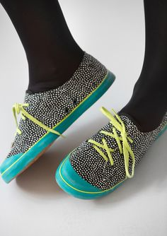 """""""Joyce"""" cotton canvas sneakers – Accessories – GUDRUN SJÖDÉN – Webshop, mail order and boutiques   Colorful clothes and home textiles in natural materials."""