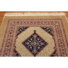 Hand-knotted Romanian Multicolor Wool Area Rug (4'11 x 10'7) (Multi Color Romanian Wool Rug), Beige, Size 5' x 11'